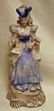 "RARE Vintage CORDEY 10 3/4"" Tall Porcelain Figurine Woman #5081"