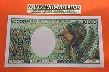 CENTRAL AFRICAN REPUBLIC 10000 FRANCS 1983 UNC Pick 13 SIGN 9 BANKNOTE BILLETE