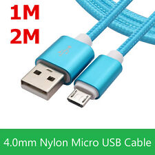 1M 2M Micro USB Data Sync Fast Charger Charging Cable Cord For Samsung Android