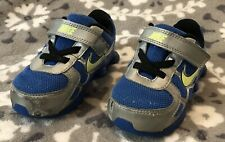 Nike Shox Baby Toddler Boys Shoes Sneakers Blue Silver Yellow Size 6