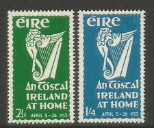 Ireland 1953 An Tostal Festival--Attractive Topical (147-48) MH