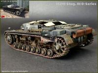 Stug.III 0-Series Tank Plastic Kit 1:35 Model MINIART