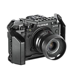 For Fuji X-T4 Fujifilm XT4 Cage Rig Nato Rail Arca Swiss Plate With Handle