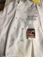 Autographed Larry Thomas Chefs Coat Insc JSA Signed Seinfeld Soup Nazi