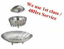 "9"" (When Open) Stainless Steel Steam Steamer Basket For Vegetables and Others AP"