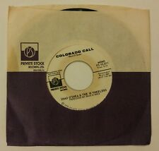 Shad O'Shea and the 18 Wheelers Colorado Call 45 rpm Private Stock Records