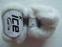 Ice Yarns Kid Mohair Fine yarn, Off White,  lot of 2 (326 yds ea)