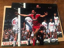 John Aldridge 16x12 Signed Photo FA Cup 1989 Semi Final Liverpool v Forest