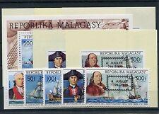 Madagaskar 808/12 Block 14 + Sonderblöcke postfrisch / Schiffe ...........1/2597