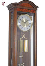 BilliB Portland Mechanical Regulator Wall Clock with Westminster Chime in Walnut