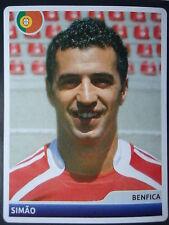 Panini 221 Simao SL Benfica UEFA CL 2006/07