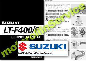 Suzuki Motorcycle Repair Manuals Literature 400 For Sale Ebay