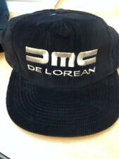 Rare Original Dmc Delorean Motor Company Hat Collectible Corduroy Silver Thread