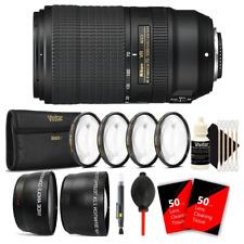 Nikon AF-P DX NIKKOR 70-300mm f/4.5-6.3G ED VR Lens and Bundle Kit