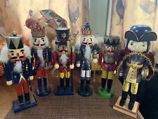 New Listing6 Christmas Wooden Nutcrackers