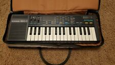 Vintage 1985 Casio Sk-1 Sampling Keyboard Synthesizer, with carrying case