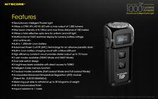 Nitecore TUP XP-L HD V6 LED Keychain Light 1000 Lumens (Black) only