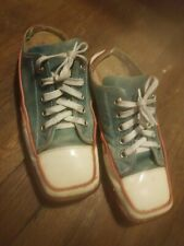 !!! Vintage Donald J Pliner 'Sport' Italy Leather Square Toe Sneakers Womens 10M