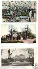 SPRINGFIELD MA United States Arsenal & U.S. Armory 3 Vintage Postcards
