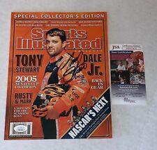 Tony Stewart signed Sports Illustrated Magazine autographed SI No Label JSA
