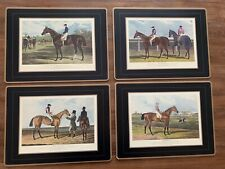 New listing Pimpernel Four Traditional Placemats Equestrian Horse Derby