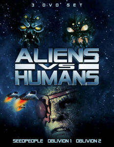 Aliens vs. Humans: 3 DVD Set [New DVD] 3 Pack