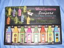 Vintage Seagers Wine Lanterns Christmas Decoration Box