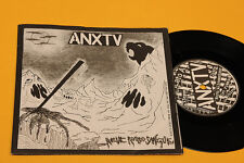 "ANXTV 7"" 6 TRACKS 33 GIRI GATEF COVER NM ALIENAZIONE..NEVE ROSSO SANGUE"