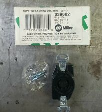 New listing Miller 039602 Receptacle
