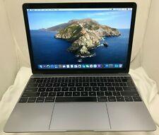 MacBook A1534 (2016) Intel Core m3 1.1GHz 8GB RAM 256GB SSD !READ! LPT-202