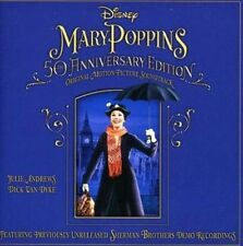VARIOUS MARY POPPINS 50TH ANNIVERSARY EDITION CD SOUNDTRACK 2013 NEW