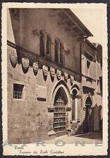 PESCARA POPOLI 03 Cartolina viaggiata 1949