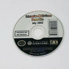 Nintendo Gamecube Interactive Multi-Game Demo Disc Only Version July 2002 7 / 02