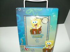 Spongebob Squarepants Wooden Picture Frame with Key Chain-Sealed