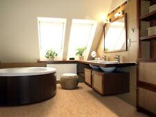 "Forna 8mm Cork Tiles Silver Birch Natural Flooring 6""x6"" Samples"