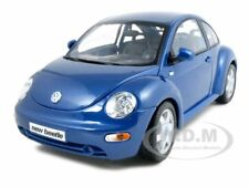 VOLKSWAGEN NEW BEETLE BLUE 1:18 DIECAST MODEL CAR BY MAISTO 31875