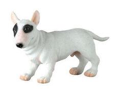 Bull Terrier Dog Puppy Figurine.Lifelike Statue.Cute Little Pup 6996 S