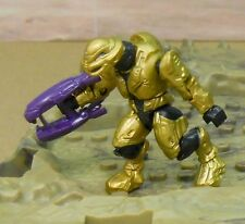 ** HALO Mega Bloks Gold COMMANDO Elite Covenant fig w/ pr