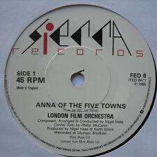 """LONDON FILM ORCHESTRA - Anna Of The Five Towns - Ex Con 7"""" Single Sierra FED 8"""