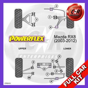 Mazda RX-8 (2003-2012)  Powerflex Complete Bush Kit