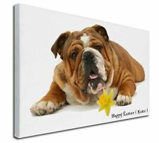 More details for personalised name bulldog x-large 30