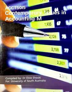 Contemporary Issues in Accounting M Custom ACCT5015