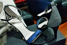 Mimco Vigilante HEELS Shoes in Prussian Blue Size 39