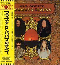 """MAMAS & THE PAPAS """"ALL ABOUT"""" ORIG JAPAN 1970 M-/M- SUNSHINE POP"""