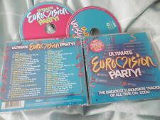 EUROVISION ULTIMATE PARTY! 2008 2 CD ALBUM 42 TRACKS ABBA LORDI LULU CELINE DION