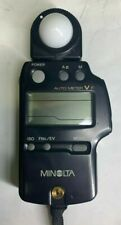 Konica Minolta Auto Meter VF Flash Meter  Made in Japan BEAUTIFUL AND ACCURATE !