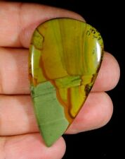 42 CT LOVELY NATURAL DESIGNER AMERICAN OWHYEE JASPER PEAR CABOCHON GEMSTONE B93