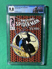 Amazing Spider-Man Venom 3D 1 CGC 9.8 2116683001 Venom Label ASM 300 Homage