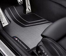 BMW M4 Performance Floor Mats 4 Series F32 F33 F82 2013-2017 Front Set OEM