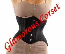 "Short Corset Curvy Steel Boned Waist training Underbust Size 18"""